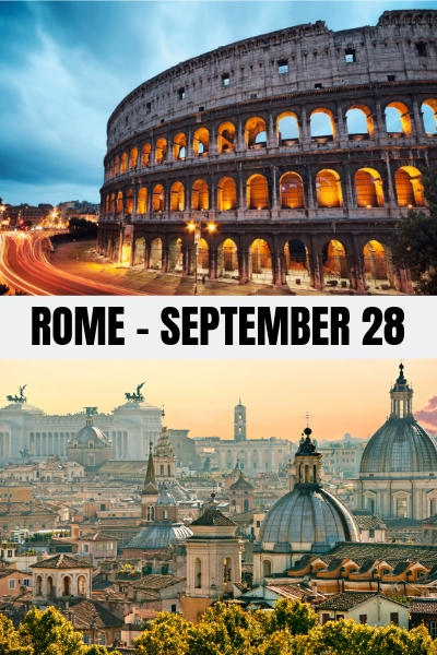 ROME - SEPTEMBER 28 - RJ SCOTT USA TODAY Bestselling Author of Gay MM Romance