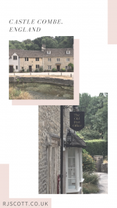 Castle Combe, England, RJ Scott, USA Today Bestselling Author