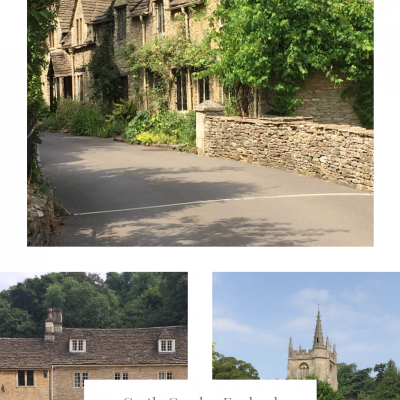 Castle Combe, and England's odd place names