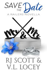 RJ Scott, VL Locey, Hockey Romance, MM Romance, Harrisburg Railers
