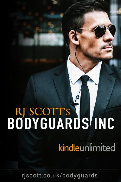 RJ SCOTT MM Romance Gay Romance Bodyguards Inc Kindle unlimited