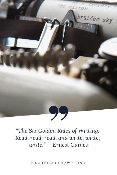 Writing Quotes - RJ Scott USA Today best selling authors of Gay MM Romance
