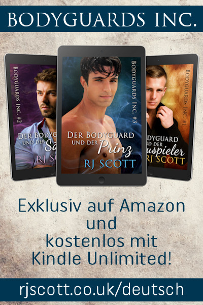 Der Bodyguard und der Prinz, RJ Scott USA Today best selling authors of Gay MM Romance