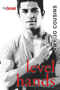 Level Hands, Amy Jo Cousins, MM romance