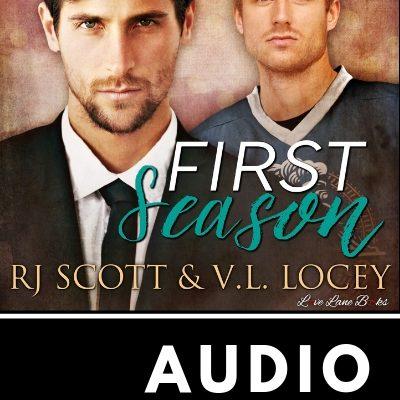 First Season Hockey Romance Sports RJ Scott MM Romance Gay Romance - Audio OUT NOW