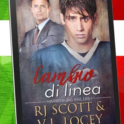 Changing Lines Italian Cambio di linea RJ Scott and VL Locey USA TOday Best selling authors of MM hockey romance