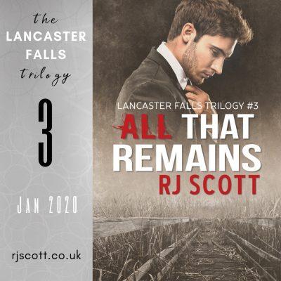 Lancaster Falls Dates for your diary RJ Scott MM Romance