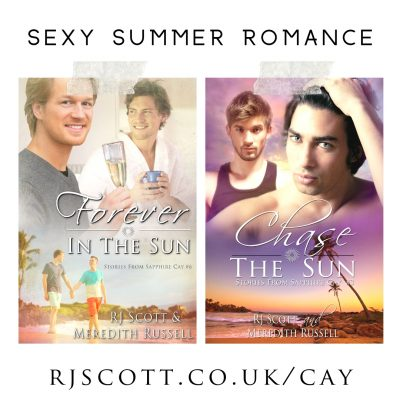 Kindle Unlimited - Amazon Exclusive - Sapphire Cay - RJ Scott & Meredith Russell, MM Romance Sexy Summer Romance