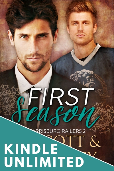 First Season Hockey Romance Sports RJ Scott MM Romance Gay Romance - Kindle Unlimited