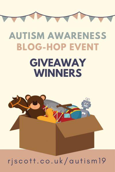 RJ Scott, Autism Awareness Giveaway Winners