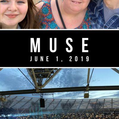 Muse, London Stadium, Olympic Park, 1 June 2019