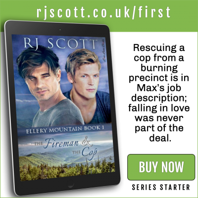 RJ Scott MM Romance Author - first in series - Ellery Mountain