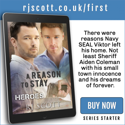 RJ Scott MM Romance Author - first in series - Heroes