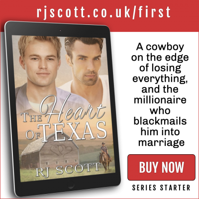 RJ Scott MM Romance Author - first in series - Texas