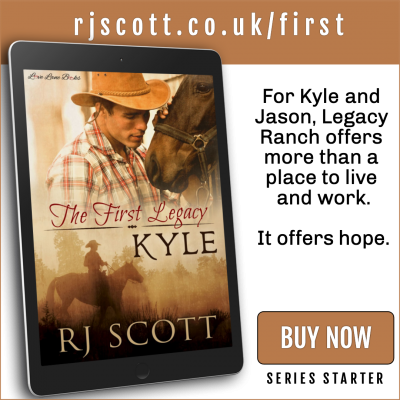 RJ Scott MM Romance Author - first in series - Legacy Ranch