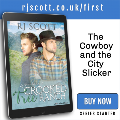 RJ Scott MM Romance Author - first in series - Montana