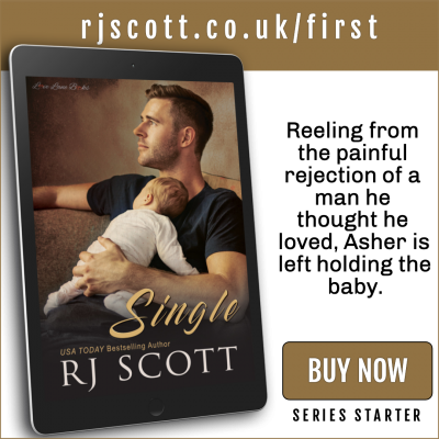 RJ Scott MM Romance Author - first in series - Single Dads