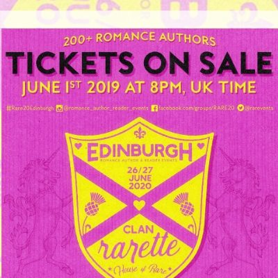 Edinburgh Signing June 2020 – tickets on sale today