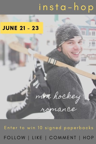 MM Hockey Romance RJ Scott VL Locey Instagram competition