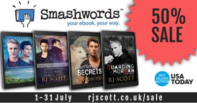 RJ Scott MM Romance Author - Summer Sale at Smashwords July 2019