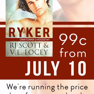 Ryker, RJ Scott, Hockey Romance, MM Romance