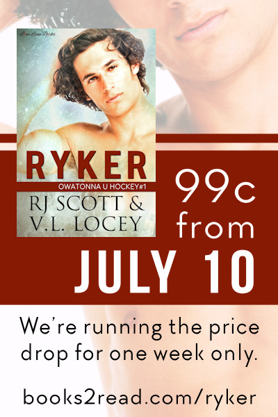 Ryker, RJ Scott, Hockey Romance, MM Romance