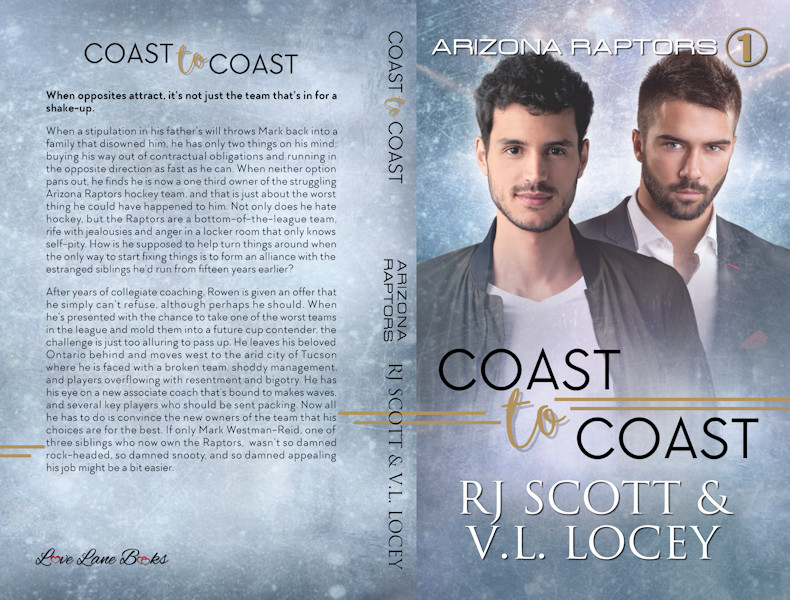 Coast To Coast MM Hockey Romance from RJ Scott & VL Locey Paperback
