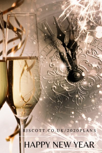 Happy New Year & Future Plans for 2020 from RJ Scott, MM Romance Author