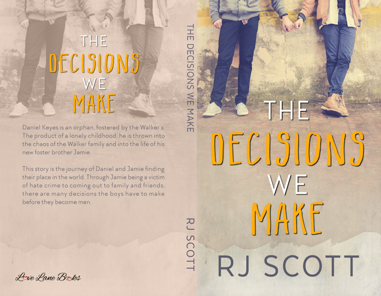 RJ Scott, MM Romance, The Decisions We Make, Paperback