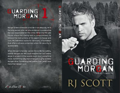 Guarding Morgan, RJ Scott, MM Romance, Romantic Suspense
