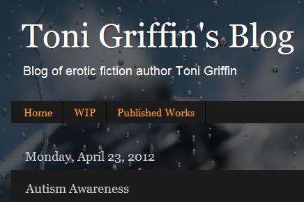 Toni Griffin – Autism Awareness