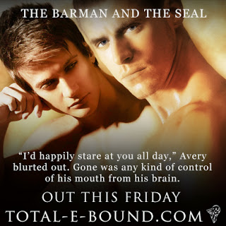 The Barman And The SEAL, out Friday 27th at Amazon, ARe, B&N etc