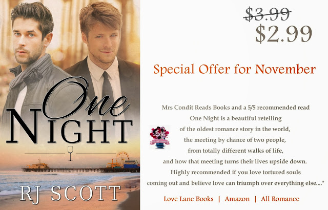 One Night – Special Offer for November with 25% off