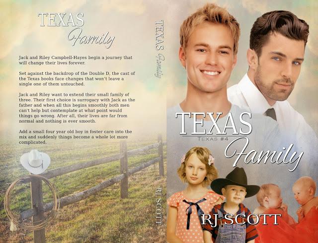 Texas Family Print Cover Reveal