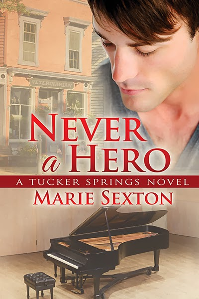 Valentine Trail – Never A Hero by Marie Sexton