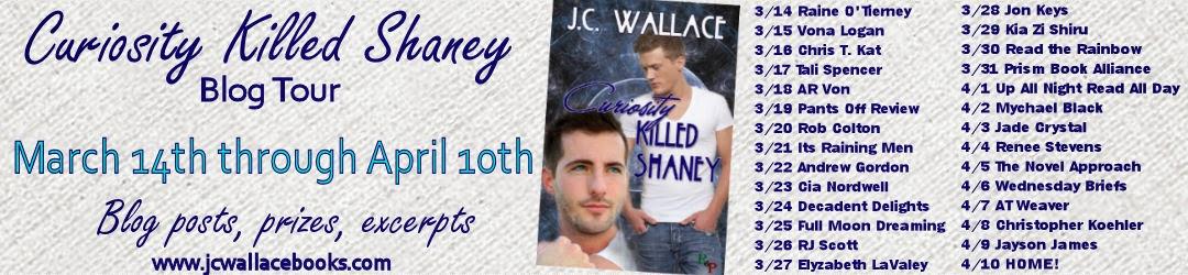 JC Wallace – Curiosity Killed Shaney blog tour