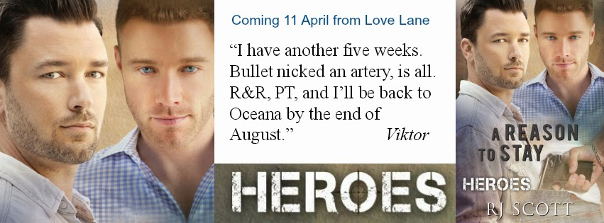 A Reason To Stay – Heroes Book 1, coming 11 April