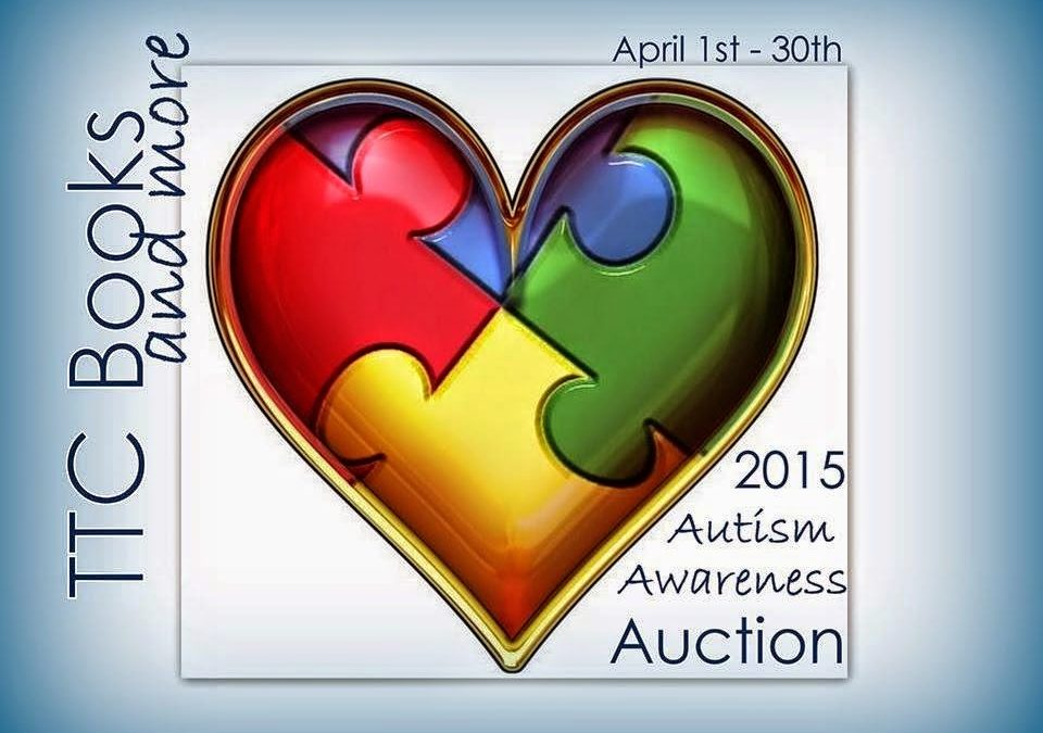 Autism Auction – Bid on signed paperbacks of The Heart Of Texas and Bodyguards Inc Volume 1