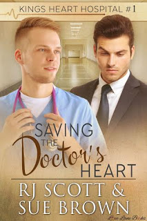 Cover Reveal: Saving the Doctor's Heart