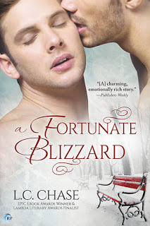 A Fortunate Blizzard by L.C. Chase – Review