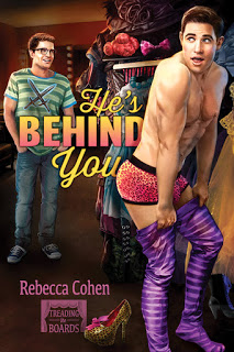 Christmas Blog: He's Behind You by Rebecca Cohen