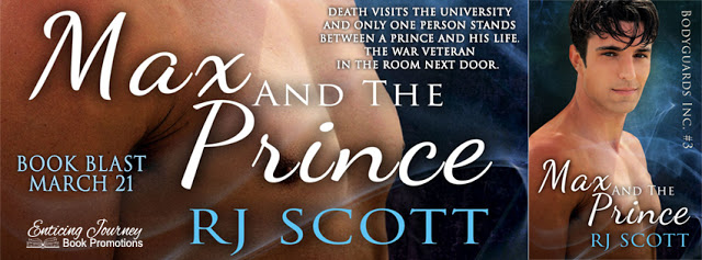Max and the Prince – book blast tour