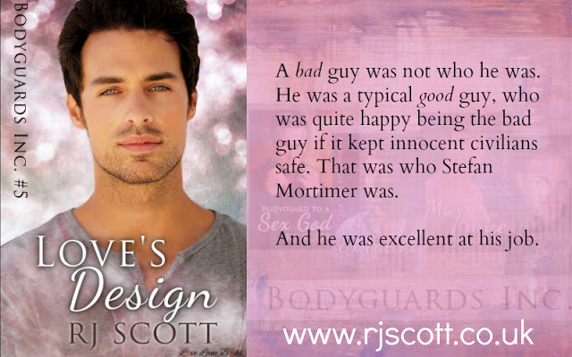 Book Review Tour – Love's Design (Bodyguards 5)