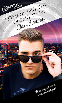 New Release – Romancing The Wrong Twin by Clare London