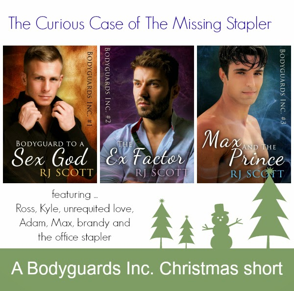 The Curious Case of the Missing Stapler – A Bodyguards Inc short #MMChristmas