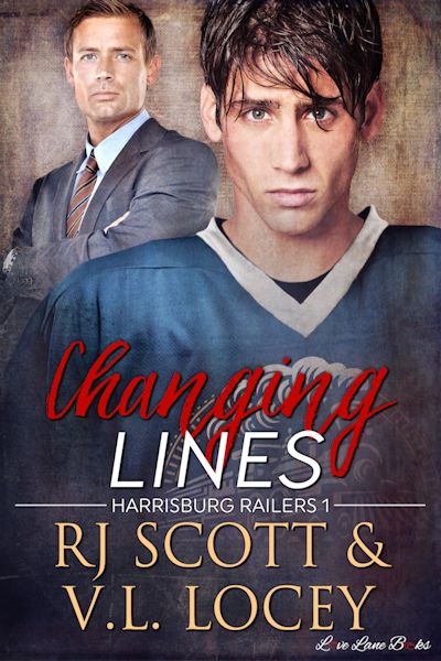 Changing Lines – Hockey Romance –  with V.L. Locey
