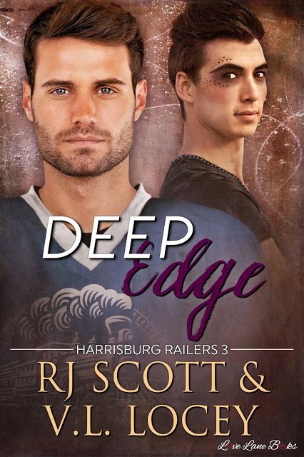 Deep Edge (Harrisburg Railers #3) with V.L. Locey