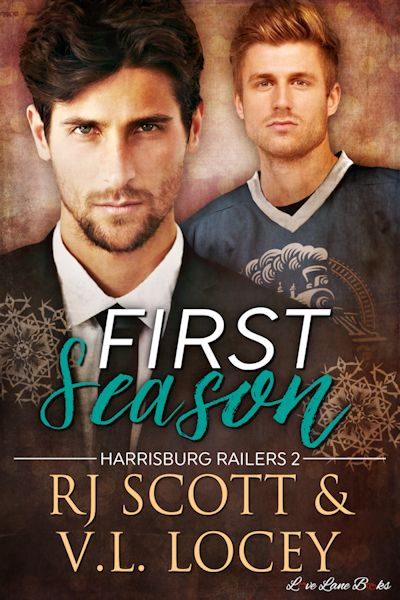 First Season (Harrisburg Railers #4) with V.L. Locey
