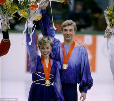 Torvill & Dean – The figure skaters that got me hooked on ice…