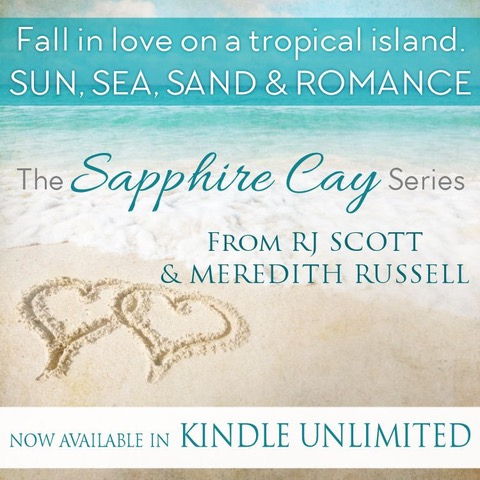 Sapphire Cay Series – written with Meredith Russell – Now Available In Kindle Unlimited